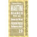 Fita dosadora Martini Bianco 995ml